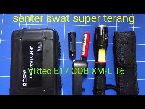 Senter swat,senter LED super terang VRtec E17 COB XM-L T6