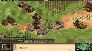 AoE2- Crazy Nomad Game- SY vs Tyrant