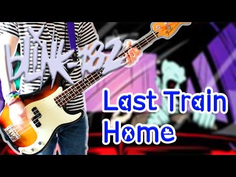 Blink 182 - Last Train Home Bass Cover