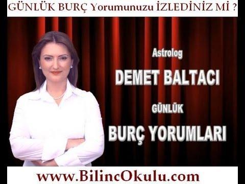 KOÇ Burcu Astroloji Yorumu -11 Ekim 2013- Astrolog DEMET BALTACI - astroloji, astrology