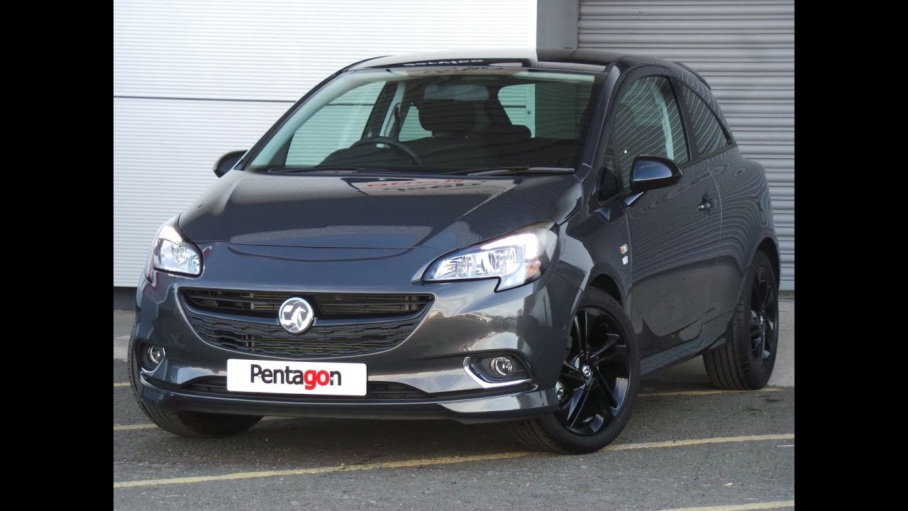 2016 16 vauxhall corsa 1 4 16v limited edition 3dr low miles in grey youtube. Black Bedroom Furniture Sets. Home Design Ideas