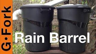 Diy Rain Barrel System - Gardenfork.tv