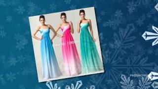 Свадебные платья новый ломбер градиент шифон пром платье дешевые невесты ну вечеринку плат