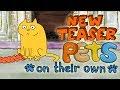 Pets on their own. 2d Funny Animated Cartoon. Teaser Trailer 2018 (№1)
