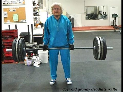 benefit of lifting weight even for old people to beat