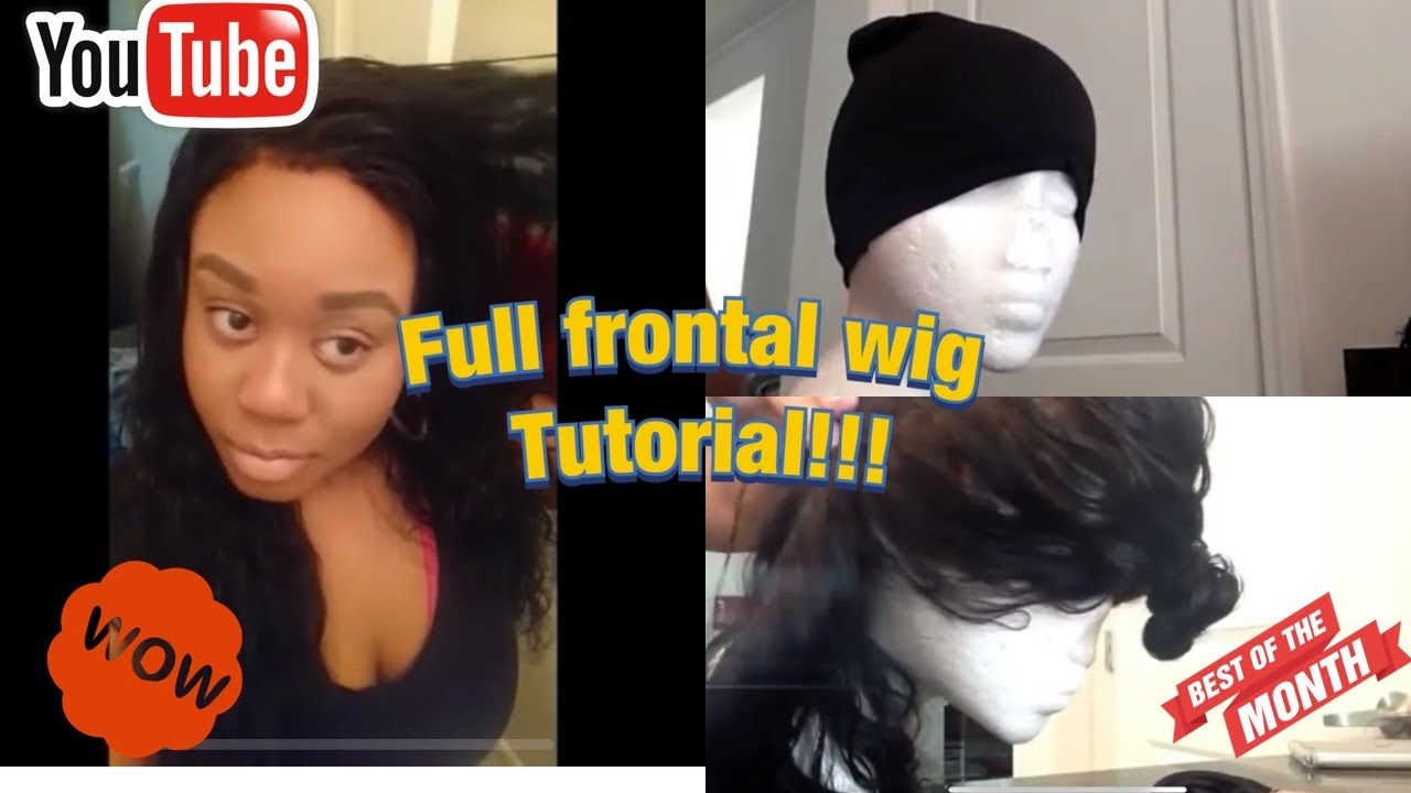 Full Frontal Wig Making Kendra S Boutique