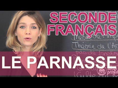 Le Parnasse - Français - Seconde - Les Bons Profs