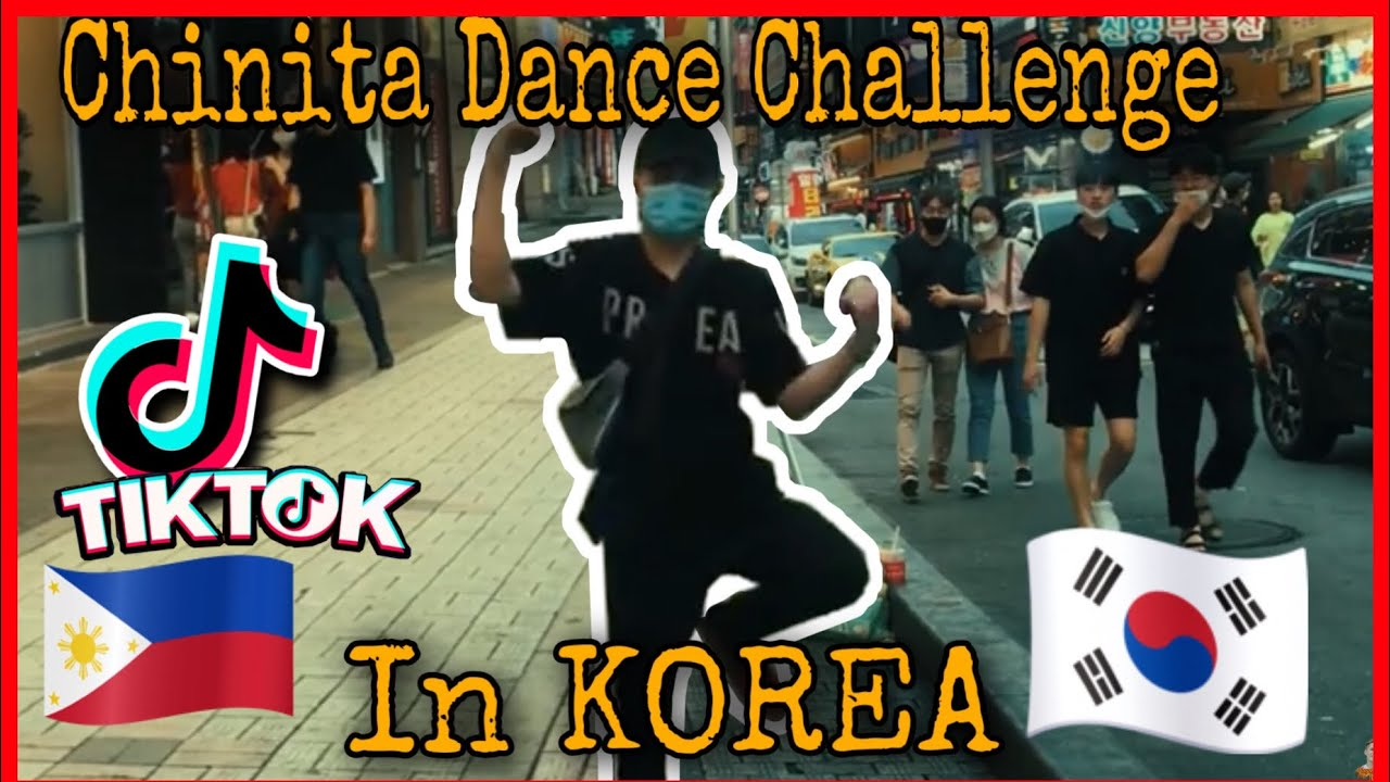 CHINITA GIRL DANCE CHALLENGE IN KOREA🇰🇷(Funny Public Dance in South Korea by Billy)