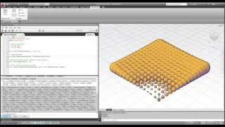 AutoCAD | DesignScript Editor | ATRACTOR SIMPLE