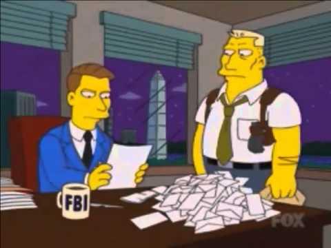 Querido Duro de Matar - Homero Simpson