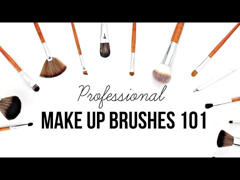 PROFESSIONAL MAKE UP BRUSHES FOR BEGINNERS - Vanity Planet Make Up Brushes