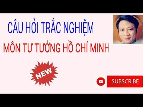 Câu hỏi trắc nghiệm môn Tư tưởng Hồ Chí Minh#2
