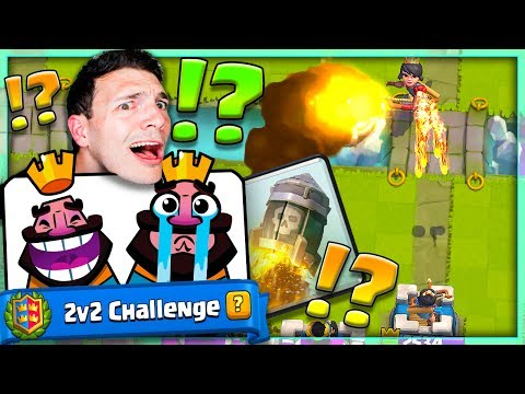 BAD 2v2 TEAMMATES! WHAT ARE THEY DOING? Clash Royale