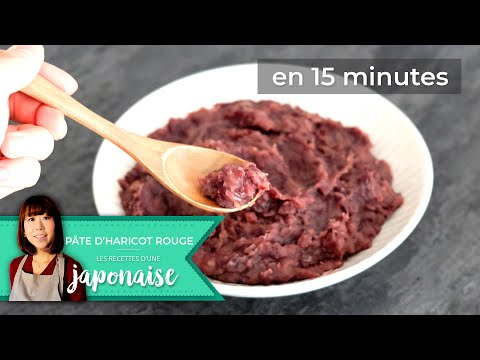 recette-la-pâte-d'haricot-rouge-fait-en-15-min- -les-recettes-d'une-japonaise- -rapide-facile