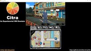 Citra 3DS Emulator - Hamatora Look at the Smoking World Ingame! (cro/f. l./audio) wip