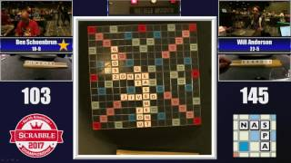 2017 National Scrabble Championship Round 28