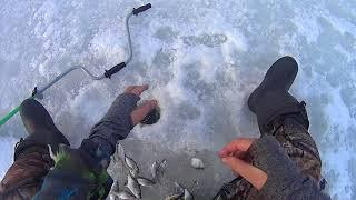 Рыбалка в Башкирии 1 января 2018 года.