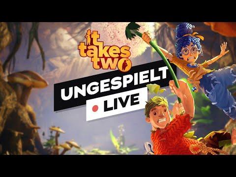 IT TAKES TWO durchzocken! + #ungeklickt NextLevel Fazit / Fritz VS Polizei 🔴 LIVE