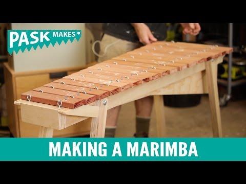 Making a Marimba