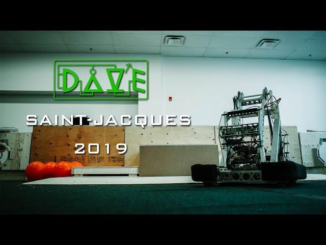 Team DAVE 2019 Robot Reveal | Saint-Jacques | FRC 3683