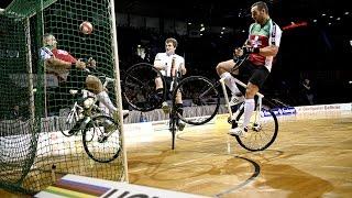شاهد مونديال كرة الدراجات