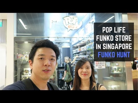 Pop Life Store in Singapore! Pop Asia Exclusives and a Walmart Funko?!