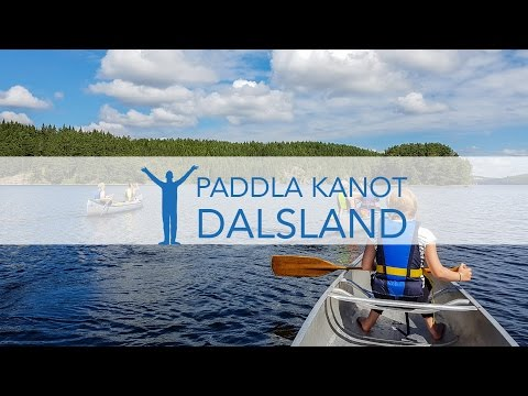 Vlogg: Paddla kanot i Dalsland