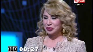 بالفيديو..إيناس الدغيدي: أنا قريبة من الله وأخاف المرض