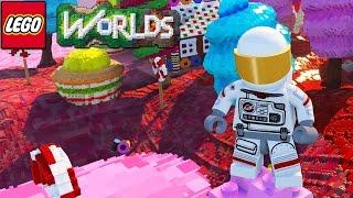 Lego Worlds - Candyland! [2]