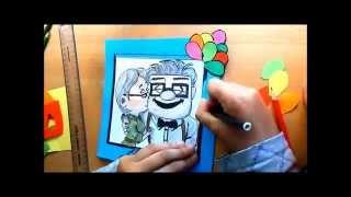 Carl & Ellie - UP (Speed drawing)
