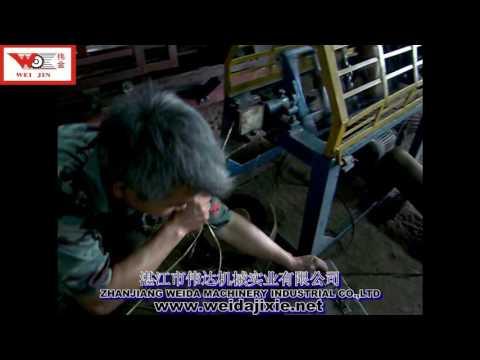 NO.6 Sisal Jute Banana Fiber Ply Rope making machine