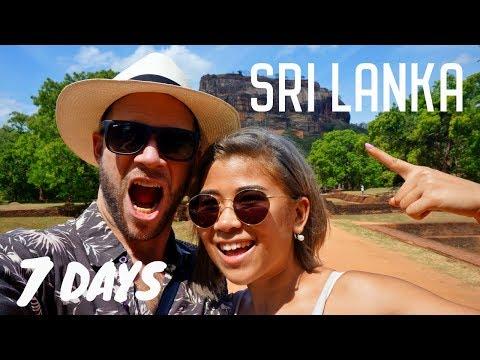 7 Days in Sri Lanka | Colombo - Kandy - Sigiriya