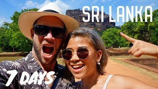 7 Days in Sri Lanka | Colombo - Kandy - Sigiriya