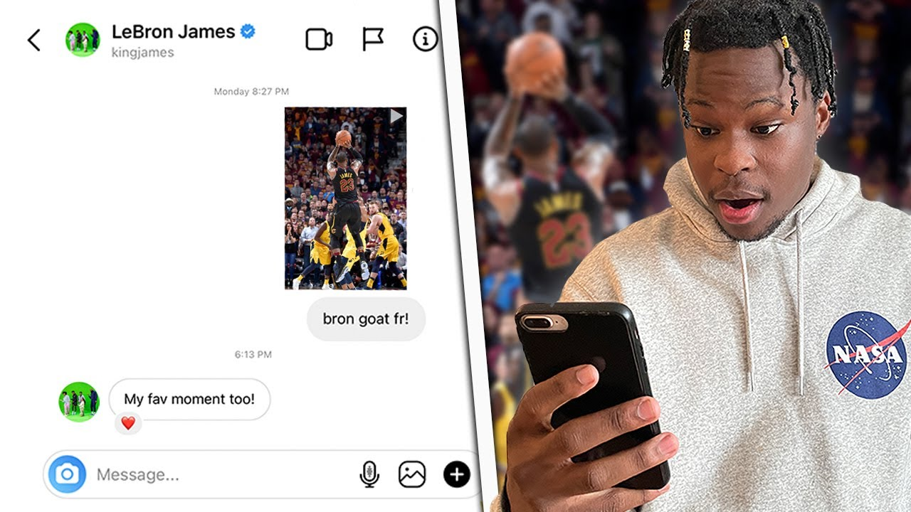 DMing 100 NBA Players Their BEST Playoff Moments!