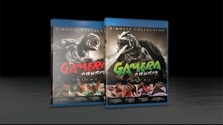 Gamera Ultimate Collection 8 Movie Blu-Ray