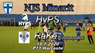 NJS Minarit P11 HyPS Valkoinen vs RaKe Superpallot 19.1.2020