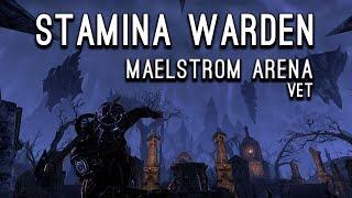 Maelstrom Arena Stamina Warden Experiement - CWC Elder Scrolls Online ESO thumbnail