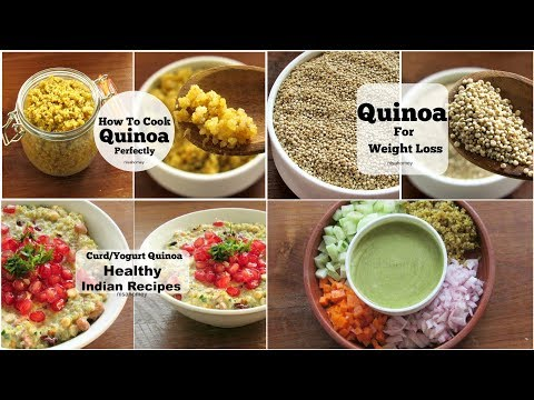 4 Healthy Quinoa Recipes For Weight Loss – Dinner Recipes – Skinny Recipes To Lose Weight Fast