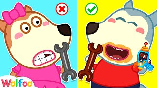 Wolfoo Staged a Chocolate Challenge - Funny Stories for Kids | Wolfoo Channel Kids Cartoon