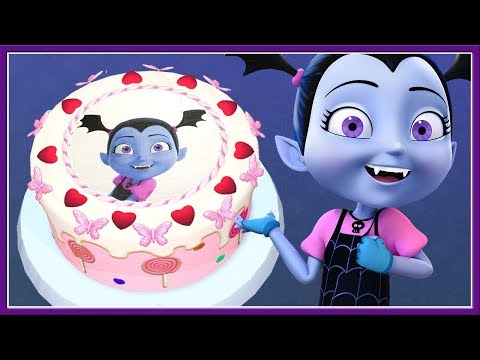Vampirina Disney Junior Birthday Cake