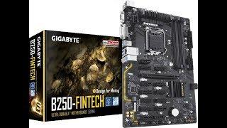 Обзор Материнской платы на 12 видеокарт  Gigabyte B250 Fintech