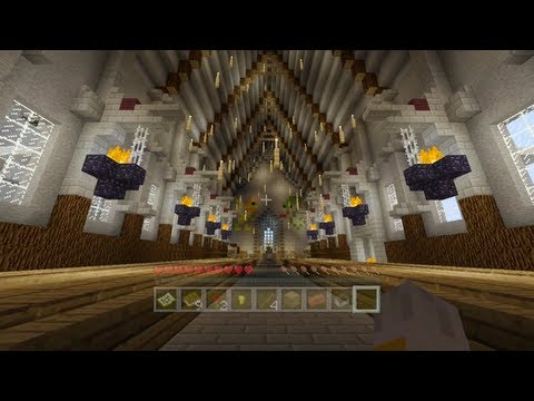 Minecraft Xbox - Harry Potter Adventure Map - Arriving At Hogwarts - Part 2