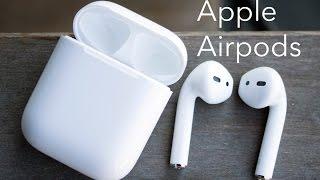 Apple Airpods — розпакування і перше підключення до iPhone