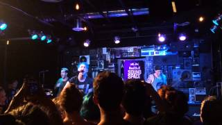 All Time Low - Dear Maria, Count Me In LIVE @KROQ Sound Space