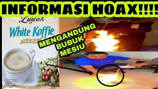 Download Video BERITA HOAX!!! KOPI LUWAK WHITE COFFIE MENGANDUNG BUBUK MESIU MP3 3GP MP4