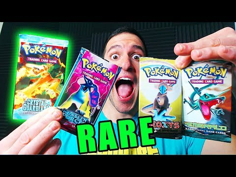 OPENING OLD POKEMON CARDS PACKS! (VERY RARE)