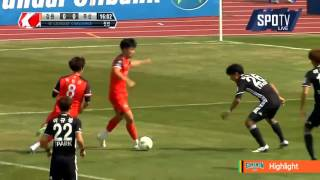 2016 K리그 챌린지 2R 강원FC vs 부산아이파크 하이라이트