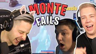 NICHT Lachen : MONTANA BLACK Fortnite Fails ! Mit AviveHD