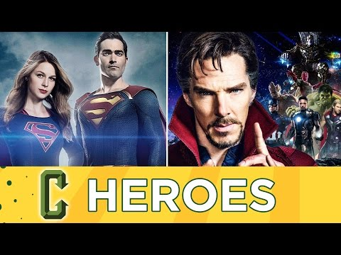 Countdown To Superman Joining Supergirl/Dr. Strange Enters Avenger's Infinity War - Collider Heroes