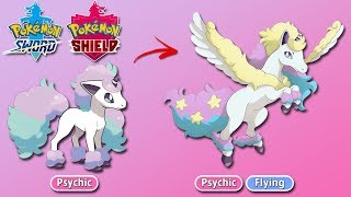Galarian Rapidash Pokemon Sword and Shield Predictions (Fanmade)